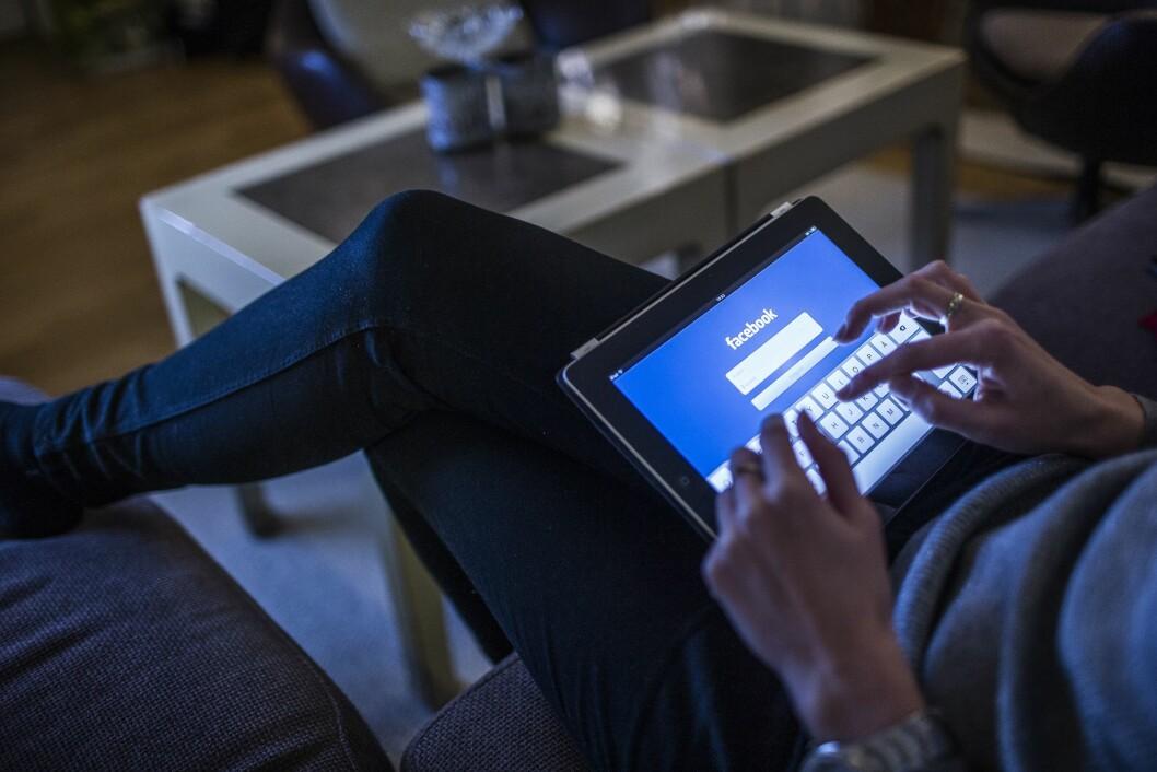 Facebook og Instagram opplever natt til onsdag problemer, særlig i Norden, Estland og Storbritannia. Det siste døgnet har det kommet inn over 650 feilmeldinger. Illustrasjonsfoto