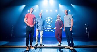 TV 2 vant første runde i Champions League-striden med NENT
