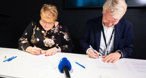 Her signeres TV 2-avtalen. Se hele pressekonferansen