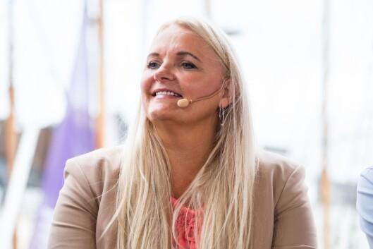 Mediepolitisk talsperson Åslaug Sem-Jacobsen (Sp) under Arendalsuka.