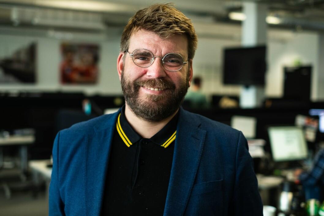 Sigvald Sveinbjørnsson, ansvarlig redaktør i Bergensavisen.