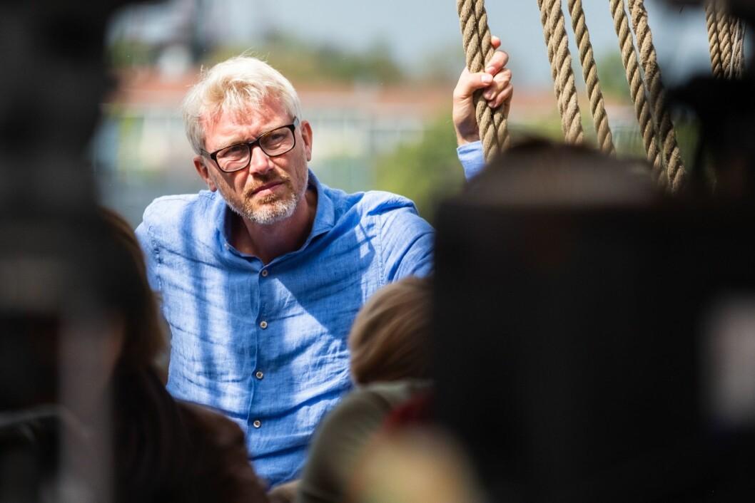 Olav Terjeson Sandnes, direktør i TV2 under Arendalsuka tidligere i år.