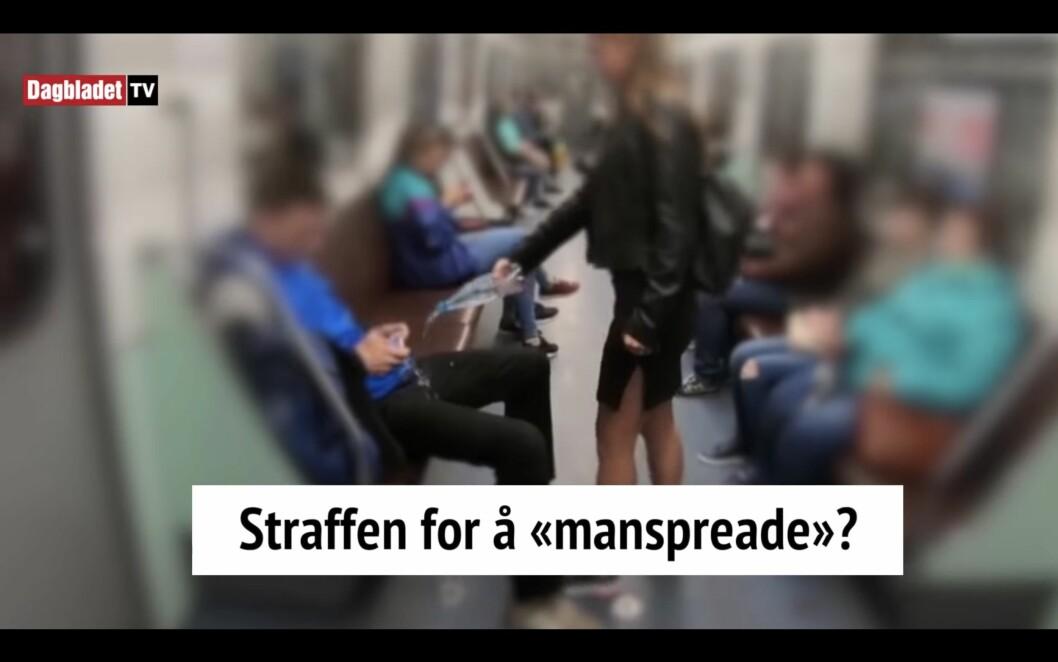 Menn er styrt av kuken. Dét er premisset for videoen. Og Dagbladet på nett legger på lystig balalaika-musikk, skrive Kjetil Rolness.