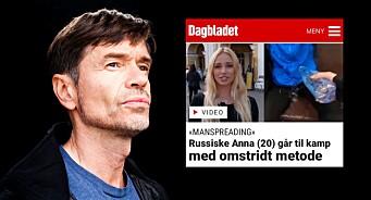 Dagbladet sprer fake news fra Russland under egen logo