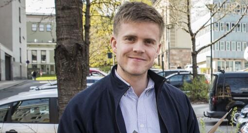 Torkjell Trædal (28) forlater Politiforum. Blir ny journalist i nettstedet Khrono