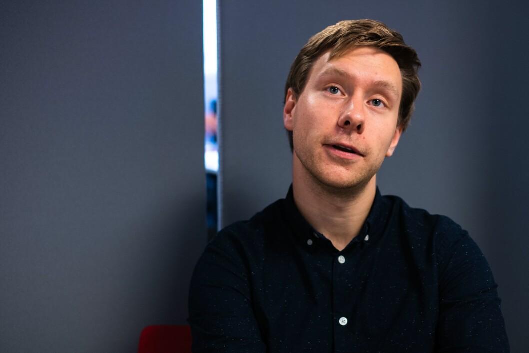 Markus André Jensen, ansvarlig redaktør i Bodø Nu.