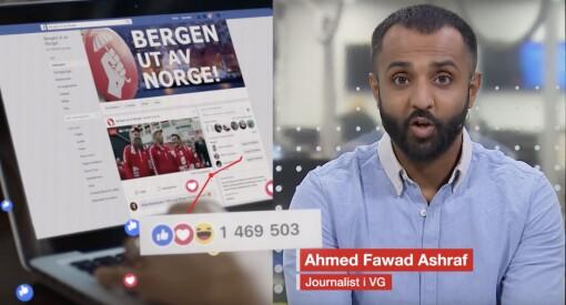 TV-studenter reagerer på VGs Bergen-reklame: – Påfallende likheter