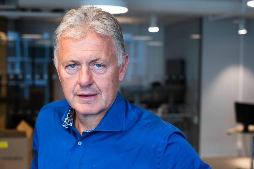 Gunnar Stavrum, ansvarlig redaktør og direktør i Nettavisen.