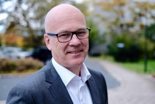 Kringkastingssjef i NRK, Thor-Gjermund Eriksen.