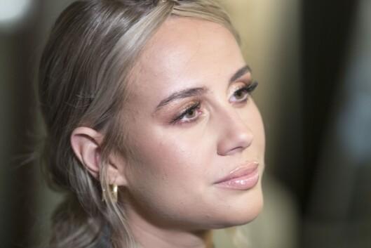 Anniken Jørgensen før VIXEN Influencer Awards i februar i fjor.