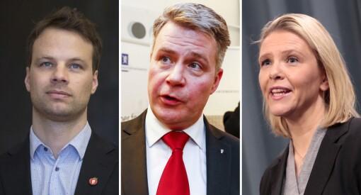 Frp-representanter varsler kamp mot egen regjering: – Helt feil å ta fra HRS støtte