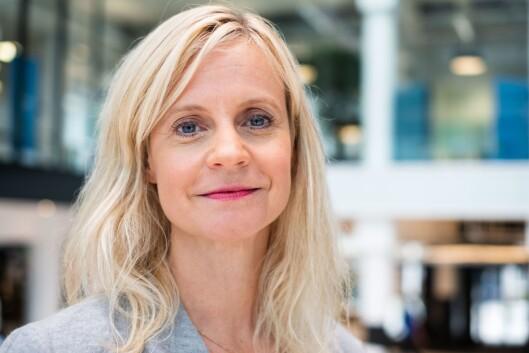 Karianne Solbrække, nyhetsredaktør i TV 2 og for anledningen styreleder i NMD.