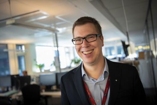 Ansvarlig redaktør og administrerende direktør Eirik Hoff Lysholm i Dagsavisen.