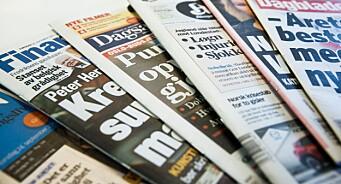 Nå er det klart hvem som får pressestøtte og ikke: Medietilsynet varsler nyheter på tirsdag