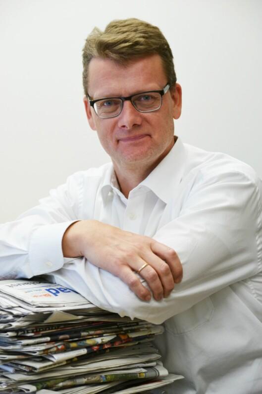 Geir K Hus, markeds- og informasjonssjef i Landslaget for lokalaviser.