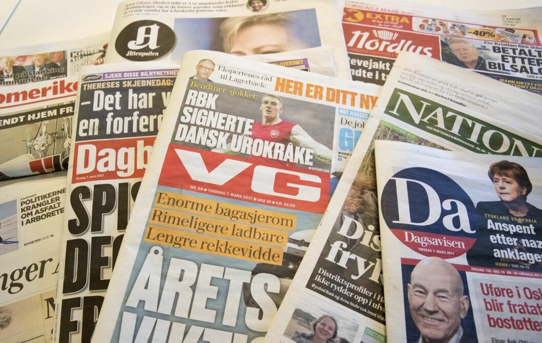 En ny undersøkelse viser at hver fjerde nordmann har lite tro til mediene generelt. Tilliten til journalistene er også svekket.