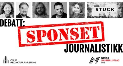 Debatt: Bør vi kunne sponse aktualitetsjournalistikk?