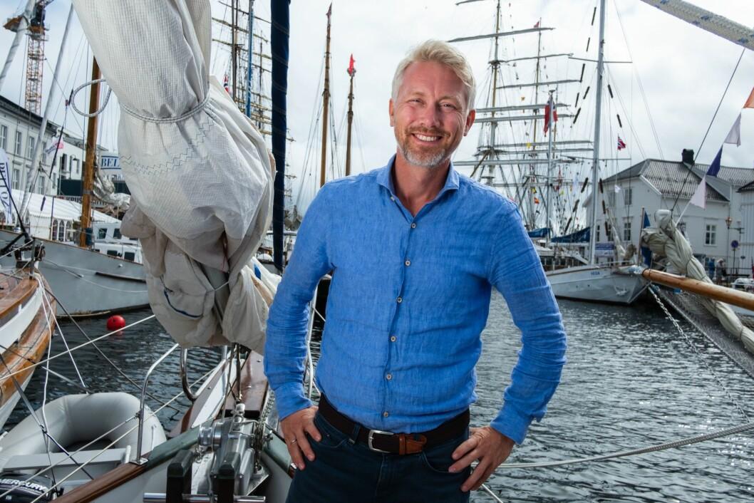 Olav Terjeson Sandnes, administrerende direktør og sjefredaktør i TV2.
