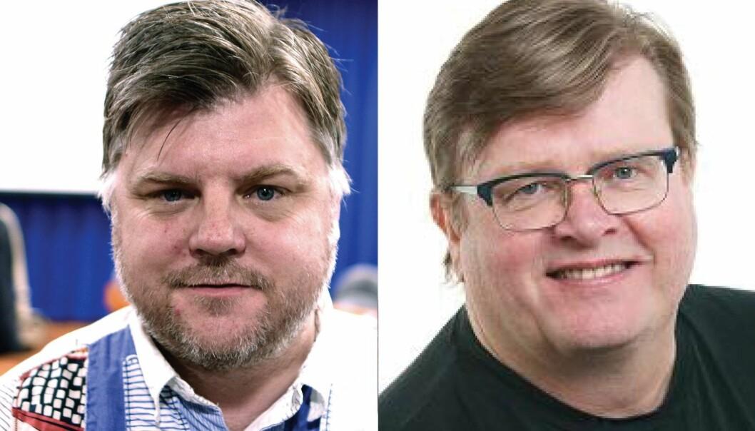 Avtroppende: Richard Aune. Innstilt som ny NRKJ-leder: Rolf Johansen (t.h)
