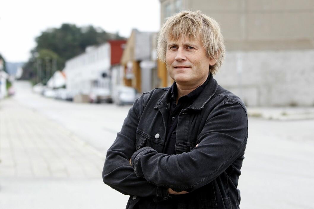 Fridtjof B. Nygaard, redaktør i Schibsted-eigde Lister.