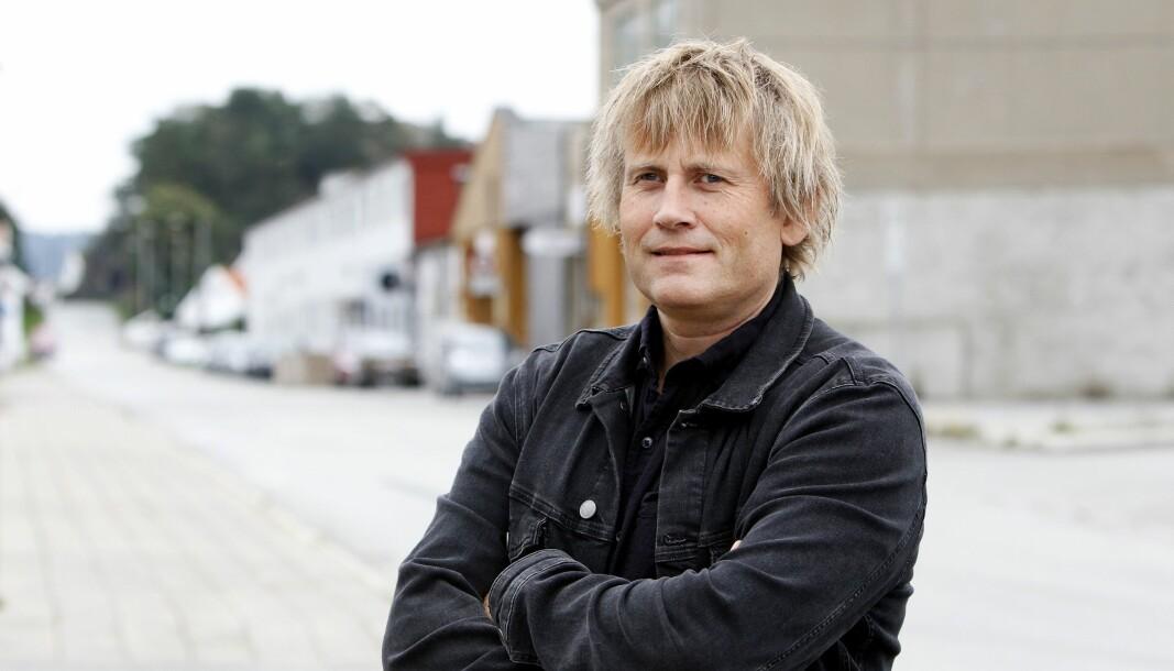 Fridtjof Borø Nygaard, her i forbindelse med nyheten om at han blir redaktør for Schibsteds tre lokalaviser på Sørlandet.