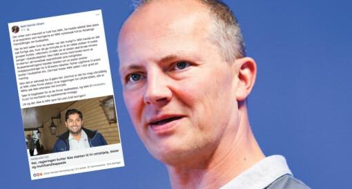 FrP-politiker reagerer på NRK Ytring: «Det virker som Internett er fullt hos NRK»