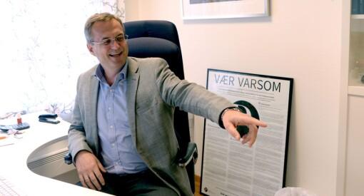 Skred av spørsmål til Fagpressen etter at avisa til Jarle Aabø ble medlem