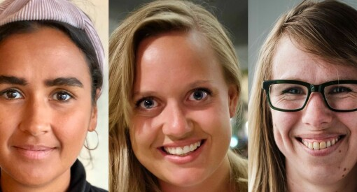 Nora Ibrahim, Julie Lundgren og Anniken Renslo Sandvik kan bli kåret til Årets medieledertalent