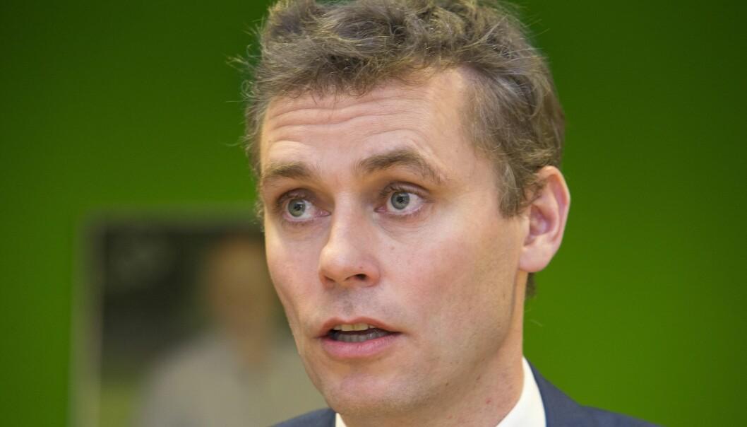 Ola Borten Moe, nestleder i Senterpartiet. Foto: Terje Bendiksby / NTB scanpix