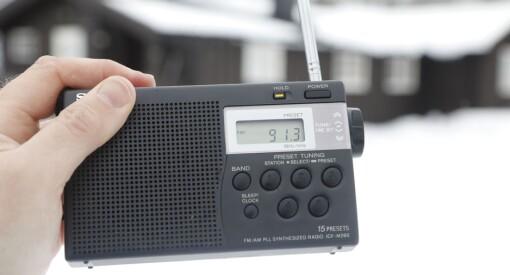 Ferske tall: Syv av ti lytter til lokalradio på FM