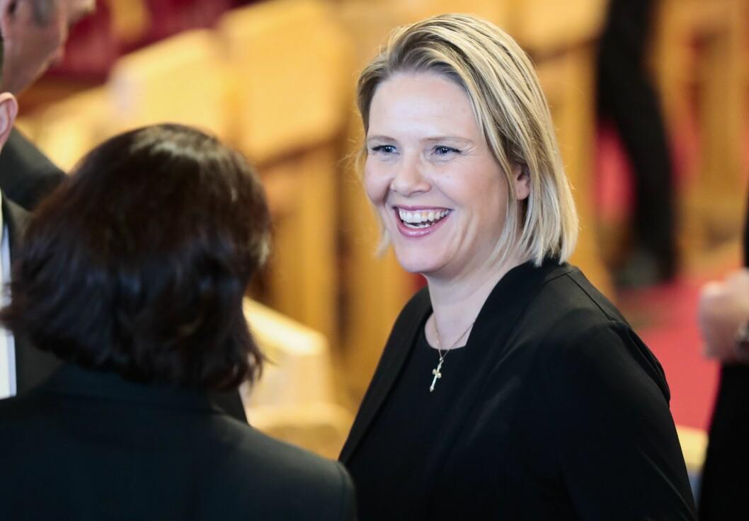 Oslo  20181002.Sylvi Listhaug (Frp) under den høytidelige åpningen av Stortinget 2018.Foto: Lise Åserud / NTB scanpix