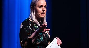 Emma Huisman Moskvil (25) har i ett år vært toppsjef i avisa. Slik har det vært