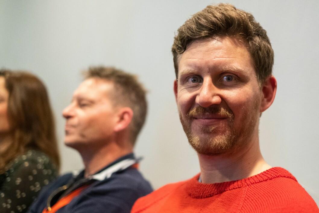 Jens Kihl, kommentator i Bergens Tidende, og tidlegare journalist i Klassekampen.