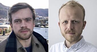 NRK Hordaland skal bli bedre på næringsliv: Henter Adrian N. Olsen (23) og Eivind Fondenes (35)