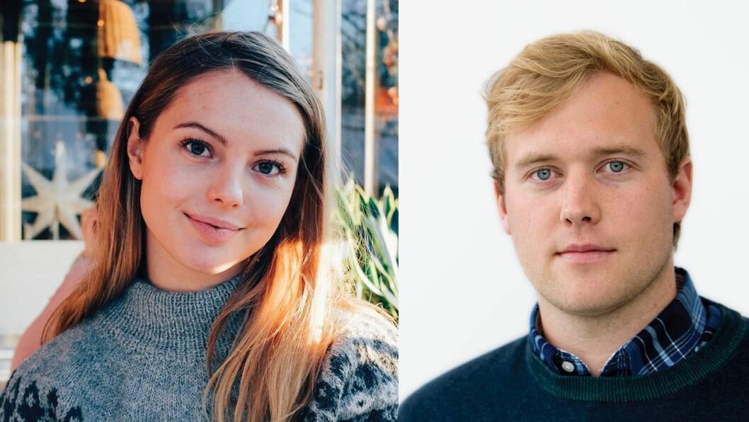 Lisa Granberg Jansen og Erik Børresen.