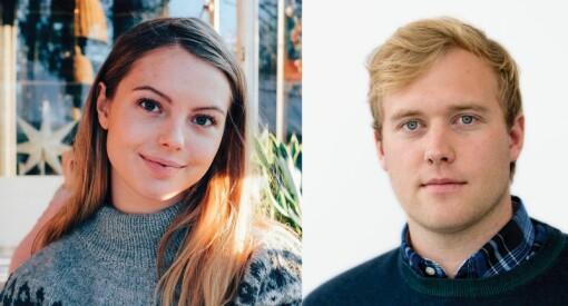 Oppland Arbeiderblad satser ungt: Erik Børresen (27) er ny digitalredaktør og Lisa G. Jansen (25) ny frontsjef