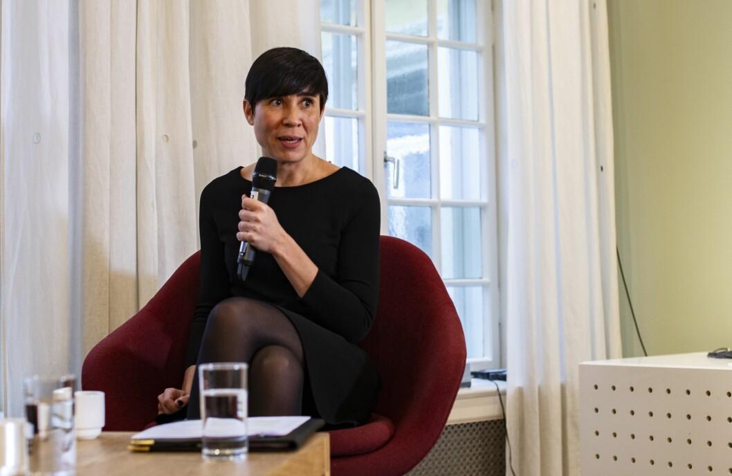 Ine Eriksen Søreide, utenriksminister.