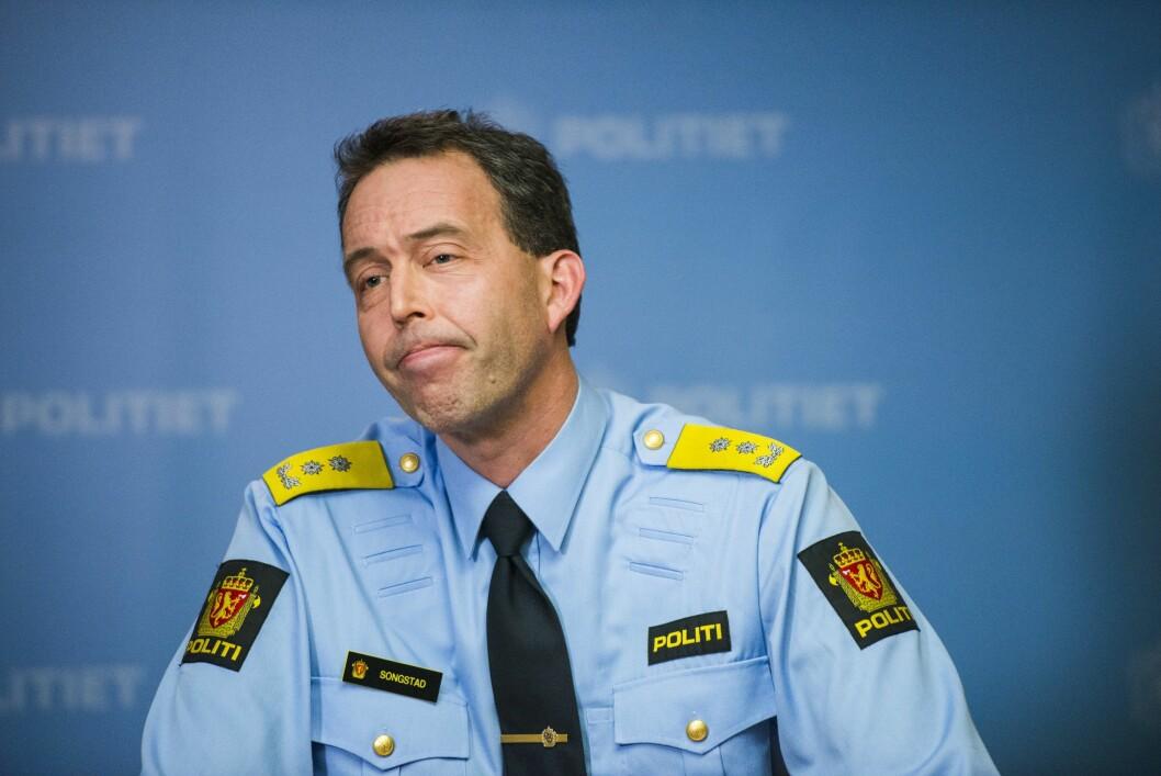Kaare Songstad, Politimeister Vest politidistrikt. Arkivfoto