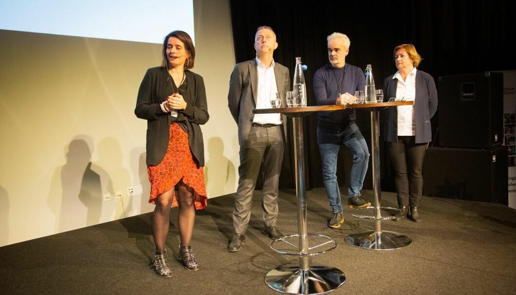 Redaktører debatterer redaktørrollen under NRs høstmøte 5. november.