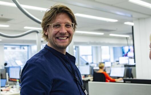 Constantin Eberle, kreativ leder i Aftenposten,