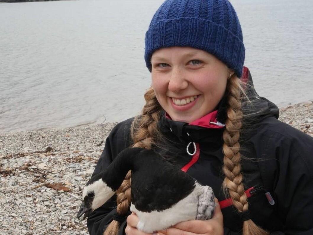 Nellie Henriette Nilsen fra Tromsø fikk drømmejobben og mønstrer på BBC Earth.