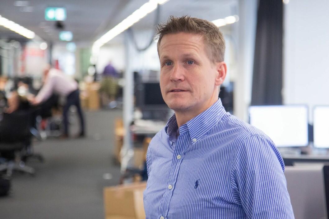 Kommentator og nyhetsleder i VG Sporten, Leif Welhaven.