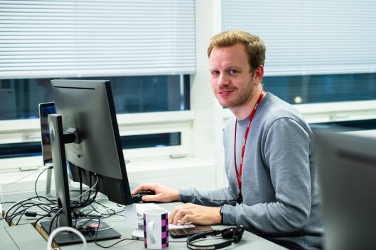 Mathias Jørgensen, leder for leserutvikling i VG.