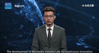 Denne TV-roboten skal kunne gi kineserne nyhetene døgnet rundt