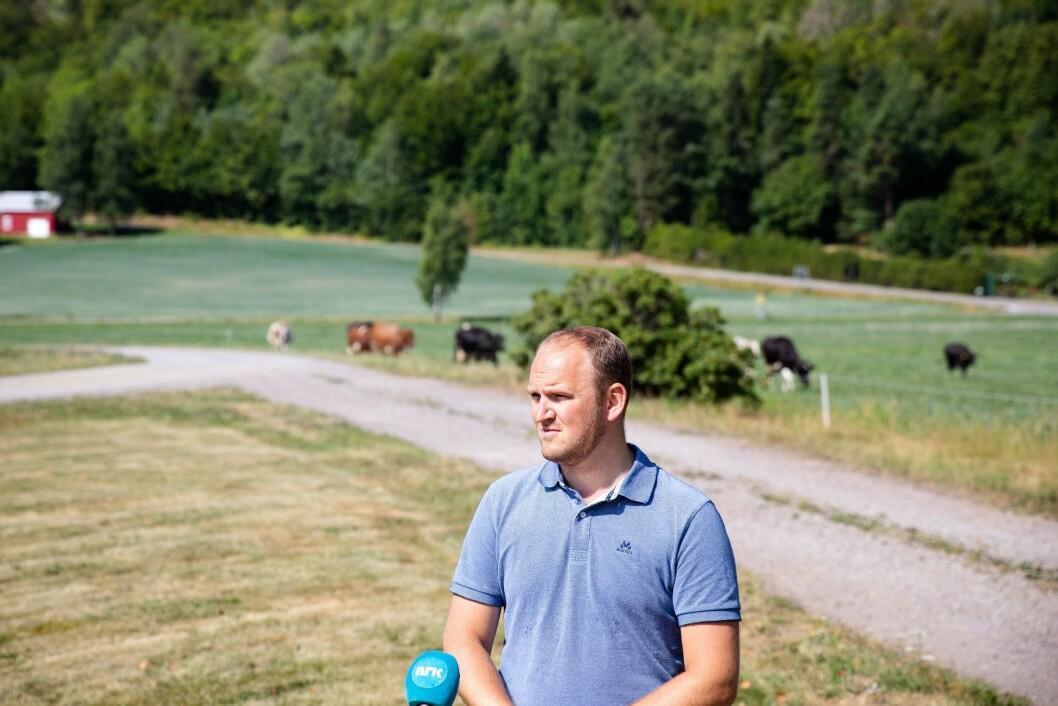 Samferdselsminister Jon Georg Dale, her fra da han var landbruksminister. Foto: Audun Braastad / NTB scanpix