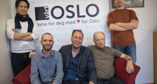 Oslo kommune deler ut egen pressestøtte for første gang: Fem aviser får penger