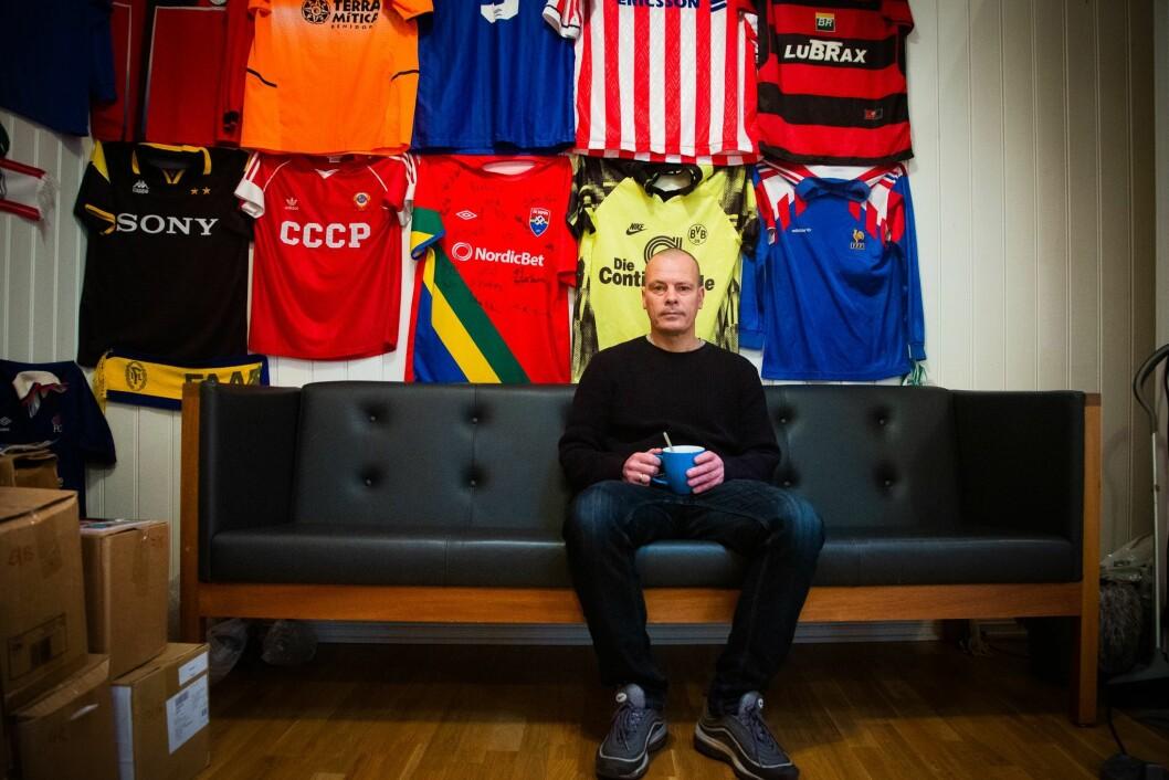 Redaksjonssjef i Josimar, Håvard Melnæs. Her i Josimar sine lokaler i Oslo sentrum.