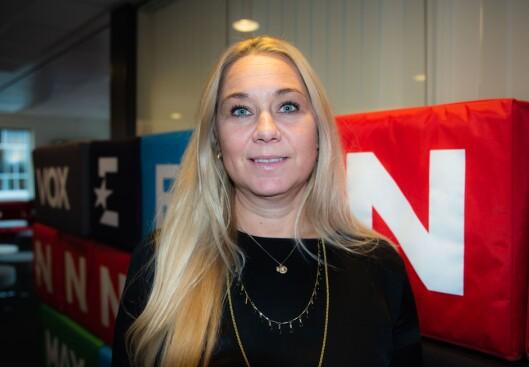 Administrerende direktør Tine Austvoll Jensen i Discovery Network Norge.