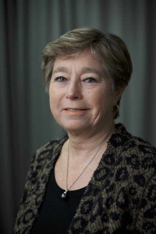 Statssekretær i Forsvarsdepartementet, Tone Skogen (H).