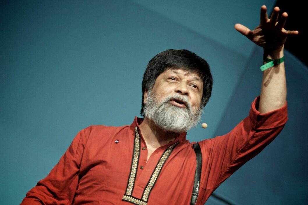 Shahidul Alam fotografert ved en tidligere anledning.
